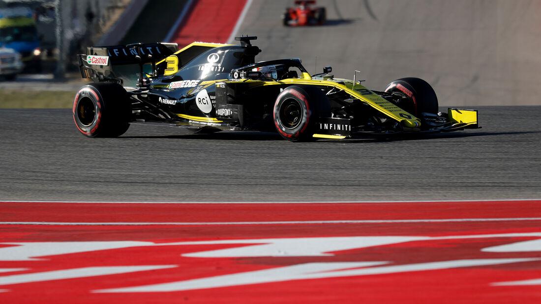 Daniel Ricciardo - Renault - GP USA 2019 - Austin
