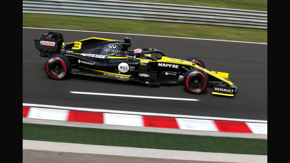 Daniel Ricciardo - Renault - GP Ungarn 2019 - Budapest - Qualifying
