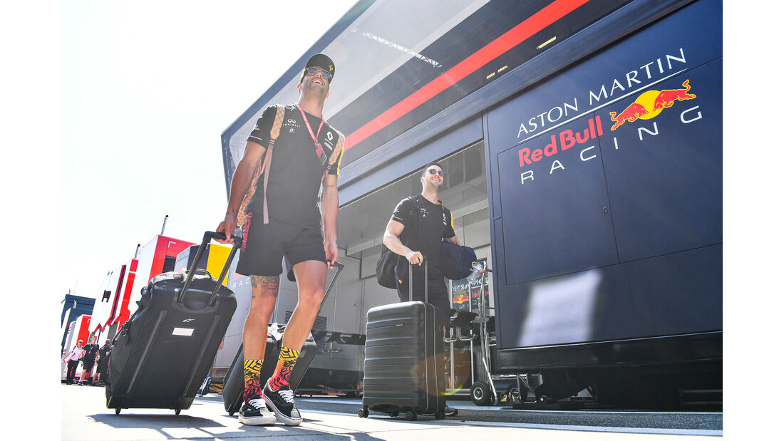 Daniel Ricciardo - Renault - GP Ungarn - Budapest - Formel 1 - Donnerstag - 1.08.2019