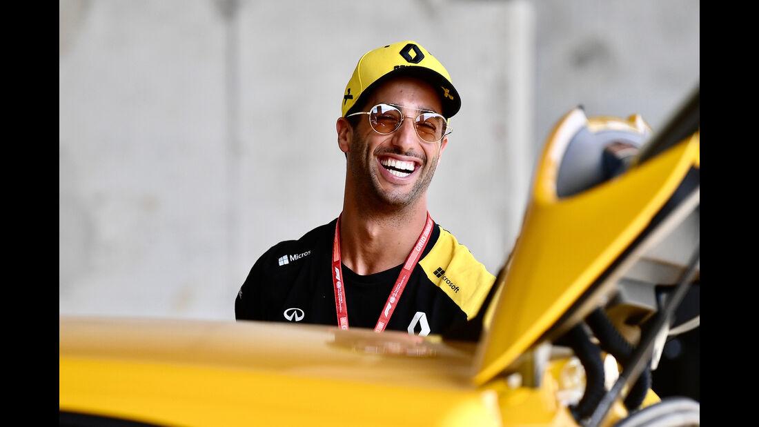 Daniel Ricciardo - Renault Megane RS - GP Ungarn 2019