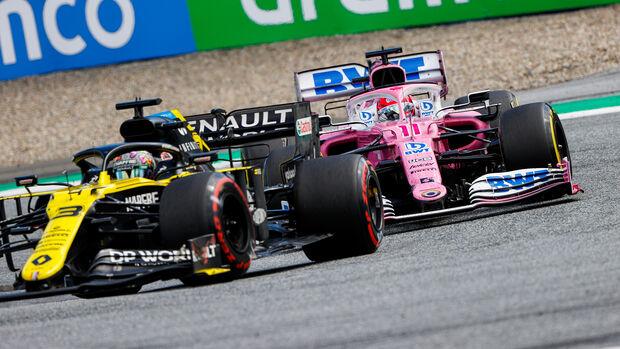 Daniel Ricciardo - Renault - Sergio Perez - Racing Point - GP Steiermark