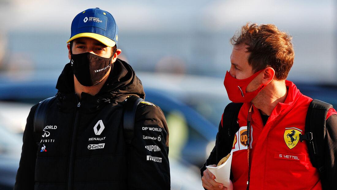 Daniel Ricciardo - Sebastian Vettel - Formel 1 - GP Türkei - Istanbul - Freitag - 13.11.2020