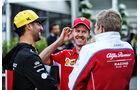 Daniel Ricciardo, Sebastian Vettel & Marcus Ericsson - Formel 1 - GP Australien - Melbourne - 15. März 2019