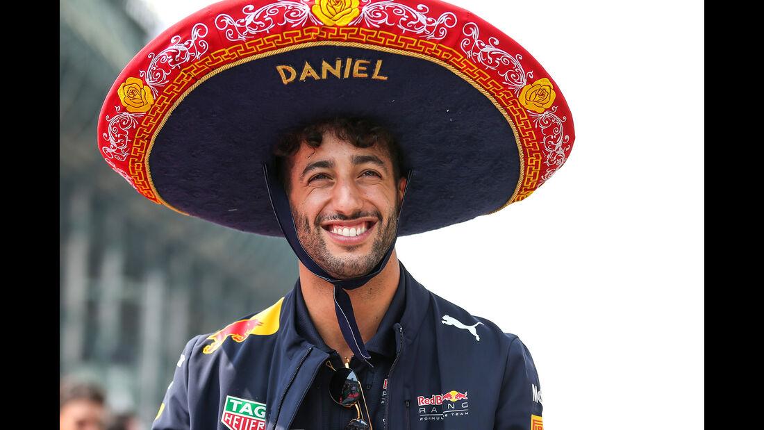 Daniel Ricciardo - Stats - GP Mexiko 2017