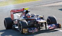 Daniel Ricciardo - Toro Rosso - F1-Test Jerez 2012