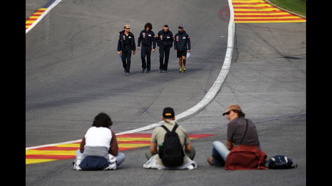 Daniel Ricciardo - Toro Rosso - Formel 1 - GP Belgien - Spa - 30.8.2012