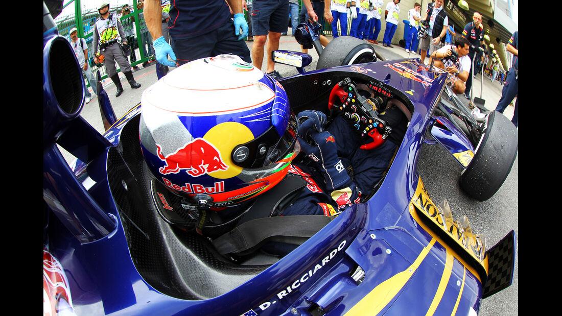 Daniel Ricciardo - Toro Rosso - Formel 1 - GP Brasilien - Sao Paulo - 24. November 2012