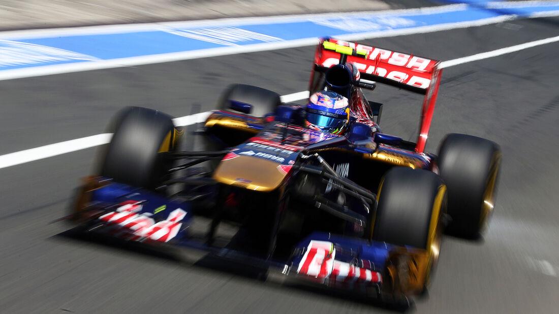 Daniel Ricciardo - Toro Rosso - Formel 1 - GP Deutschland - 6. Juli 2013