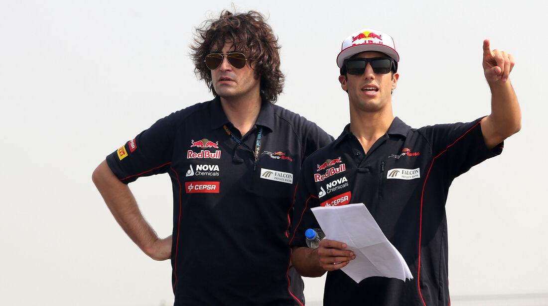 Daniel Ricciardo - Toro Rosso - Formel 1 - GP Indien - Delhi - 24. Oktober 2013