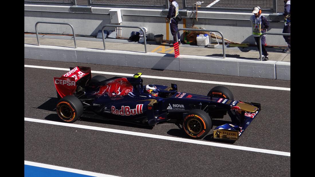 Daniel Ricciardo - Toro Rosso - Formel 1 - GP Japan 2013