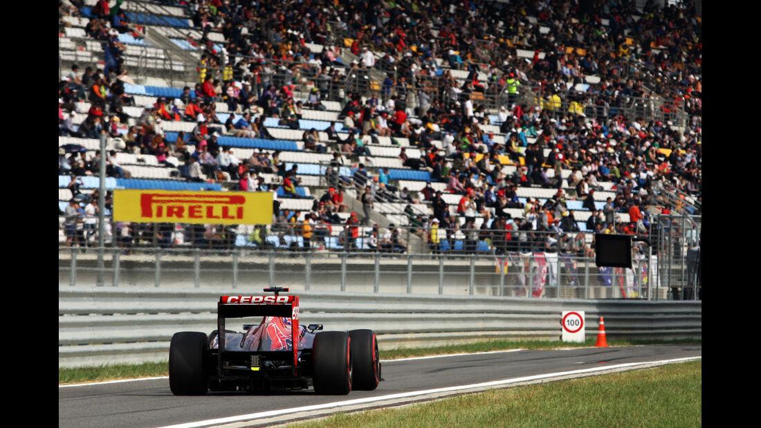 Daniel Ricciardo - Toro Rosso - Formel 1 - GP Korea - 13. Oktober 2012