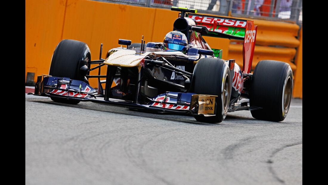 Daniel Ricciardo - Toro Rosso - Formel 1 - GP Singapur - 20. September 2013