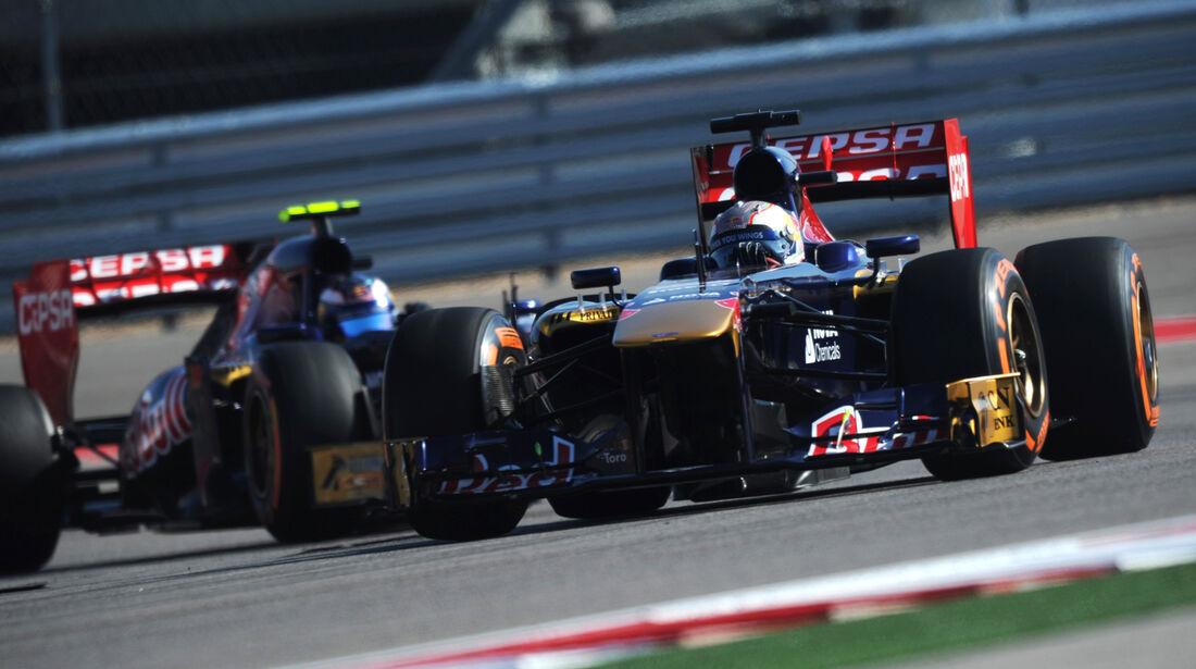 Daniel Ricciardo - Toro Rosso - Formel 1 - GP USA - 15. November 2013