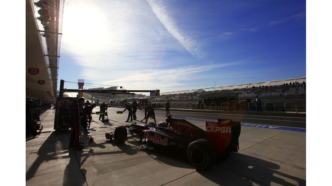 Daniel Ricciardo - Toro Rosso - Formel 1 - GP USA - Austin - 17. November 2012