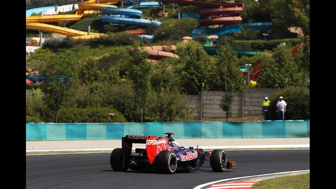Daniel Ricciardo - Toro Rosso - Formel 1 - GP Ungarn - Budapest - 27. Juli 2012