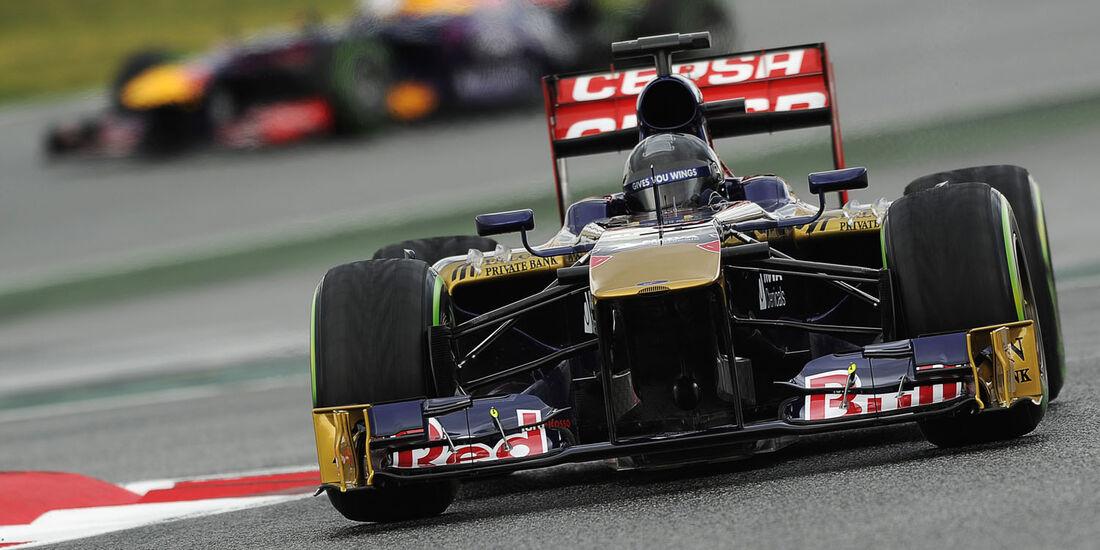 Daniel Ricciardo, Toro Rosso, Formel 1-Test, Barcelona, 01. März 2013