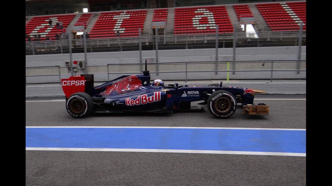 Daniel Ricciardo - Toro Rosso - Formel 1 - Test - Barcelona - 19. Februar 2013
