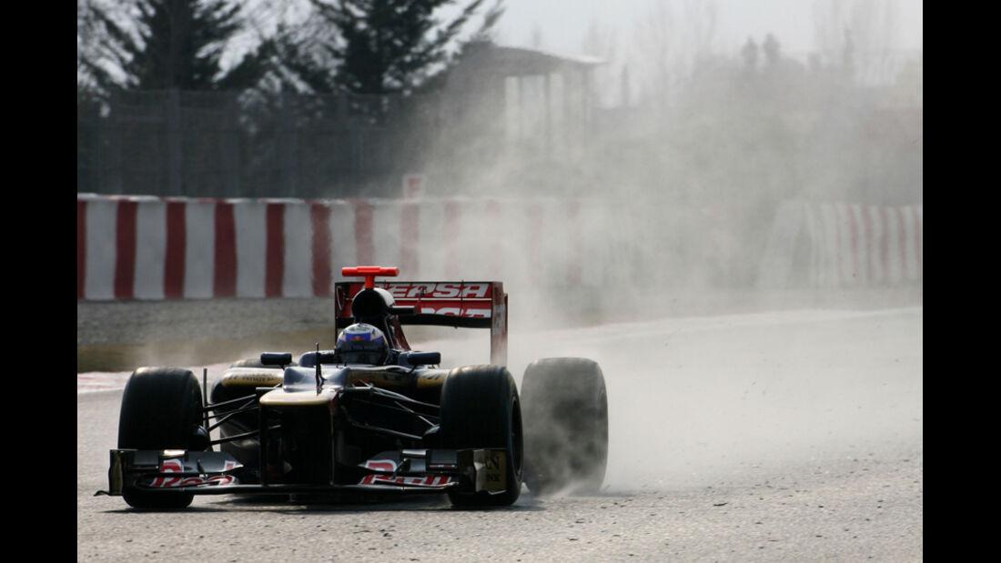 Daniel Ricciardo - Toro Rosso - Formel 1-Test Barcelona - 3. März 2012