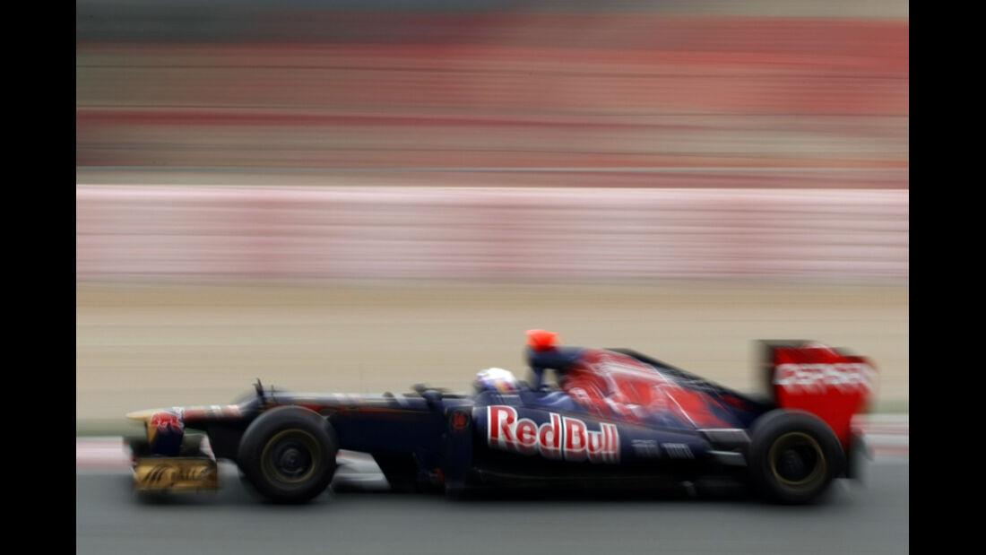 Daniel Ricciardo - Toro Rosso - Formel 1-Test Barcelona - 4. März 2012