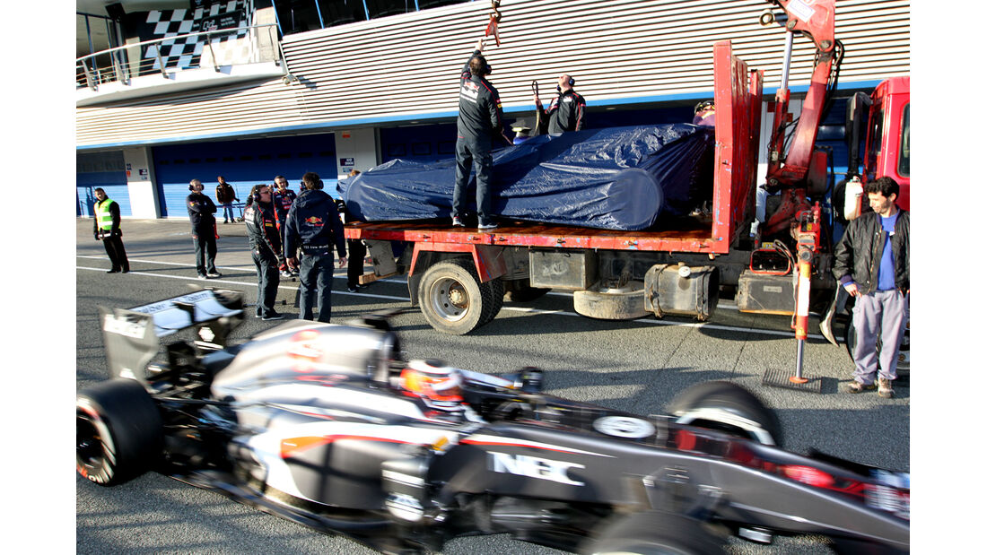 Daniel Ricciardo - Toro Rosso - Formel 1 - Test - Jerez - 6. Februar 2013