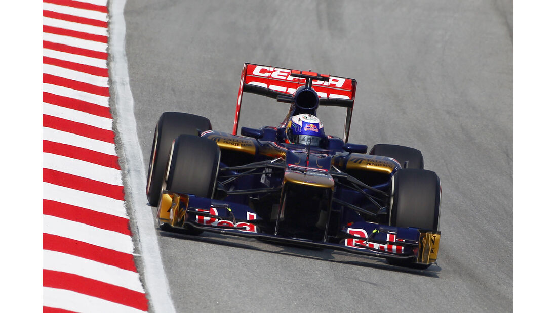 Daniel Ricciardo - Toro Rosso - GP Malaysia 2012