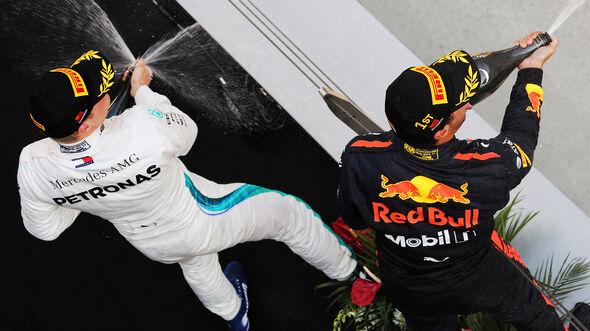 Daniel Ricciardo & Valtteri Bottas - GP China 2018