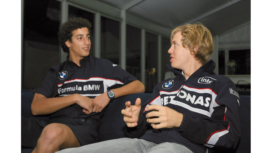 Daniel Ricciardo und Sebastian Vettel - Formel BMW