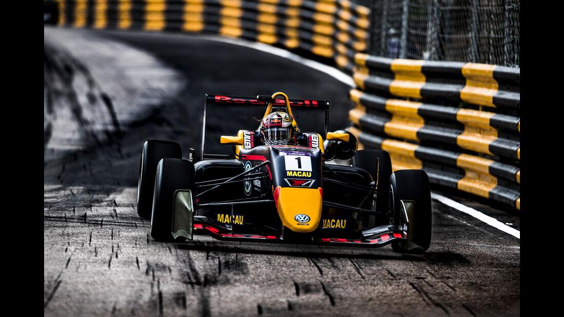 Daniel Ticktum - Formel 3 - Macau Grand Prix 2018