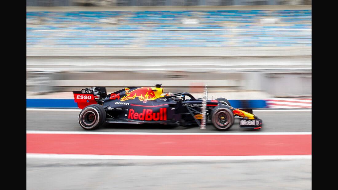 Daniel Ticktum - Red Bull - F1-Test Bahrain - 3. April 2019