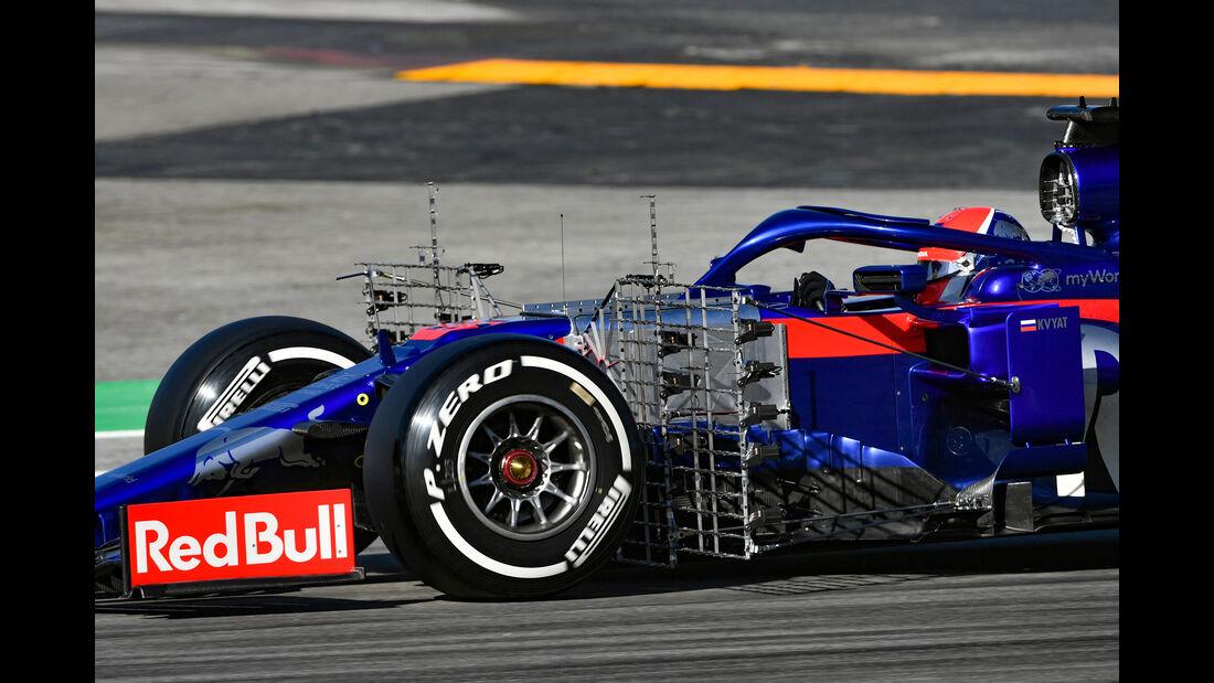 Daniil Kvat - Toro Rosso - F1-Test - Barcelona  - 14. Mai 2019