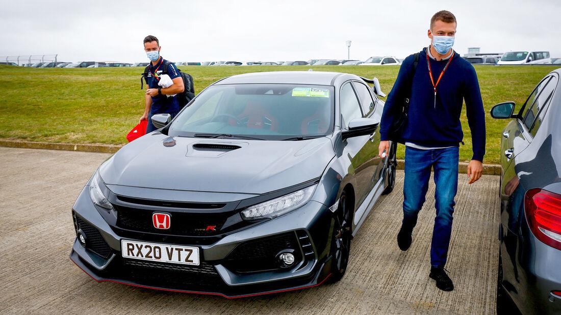 Daniil Kvyat - Alpha Tauri - 70 Jahre F1 GP - Silverstone - Formel 1 - 6. August 2020