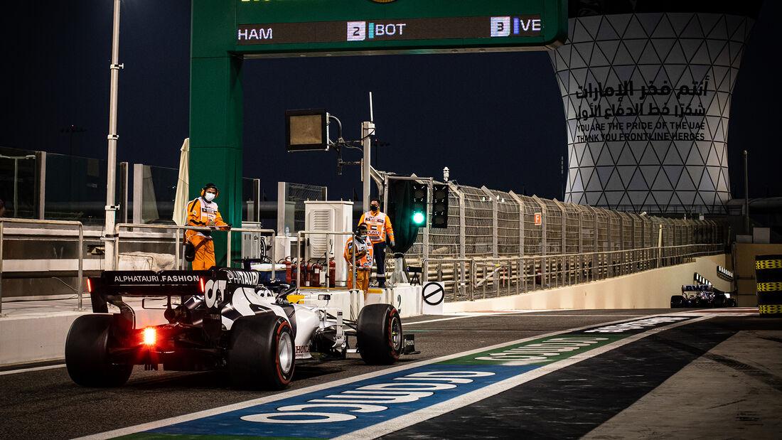 Daniil Kvyat - Alpha Tauri - Formel 1 - GP Abu Dhabi - Samstag - 12.12.2020