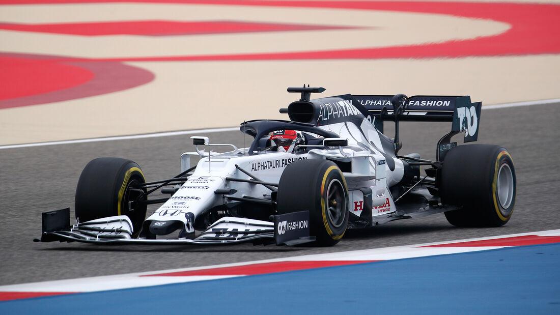 Daniil Kvyat - Alpha Tauri - Formel 1 - GP Bahrain- Sakhir - Freitag - 27.11.2020