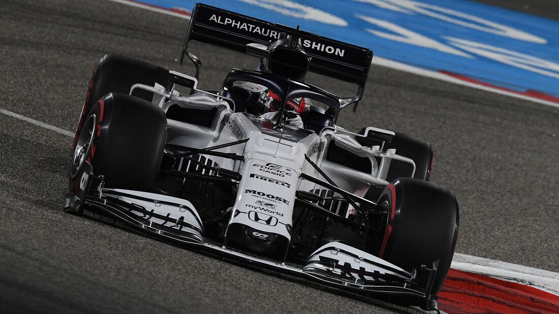 Daniil Kvyat - Alpha Tauri - Formel 1 - GP Bahrain - Sakhir - Qualifikation - Samstag - 28.11.2020