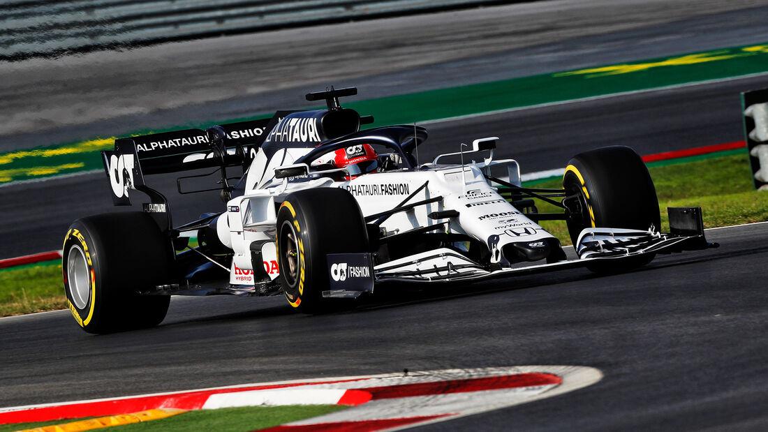 Daniil Kvyat - Alpha Tauri - Formel 1 - GP Türkei - Istanbul - Freitag - 13.11.2020