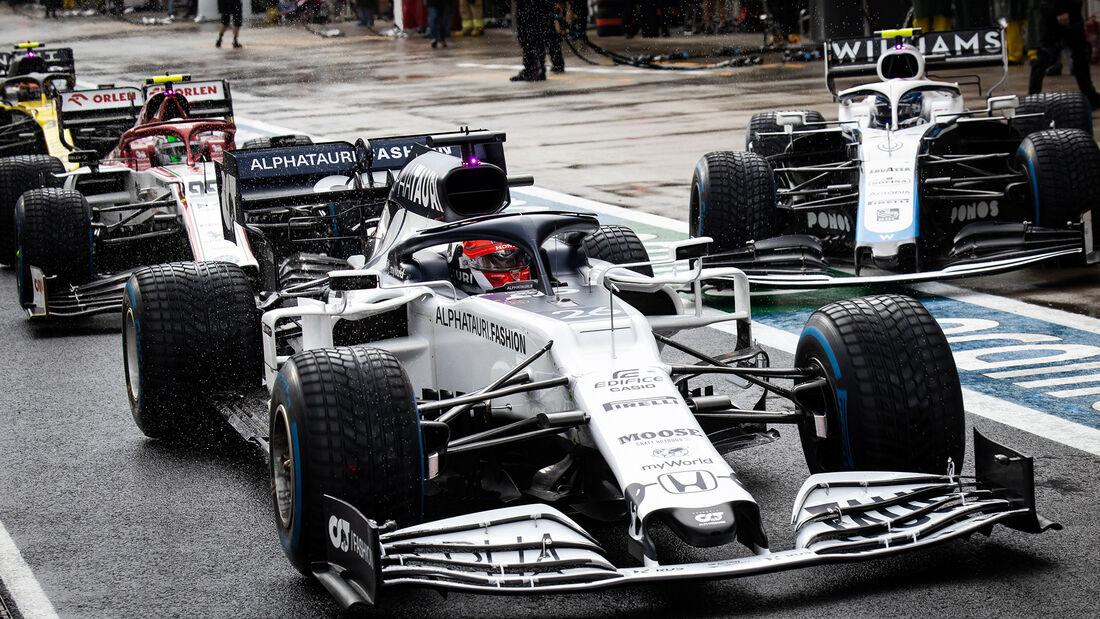 Daniil Kvyat - Alpha Tauri - Formel 1 - GP Türkei - Istanbul - Samstag - 14.11.2020