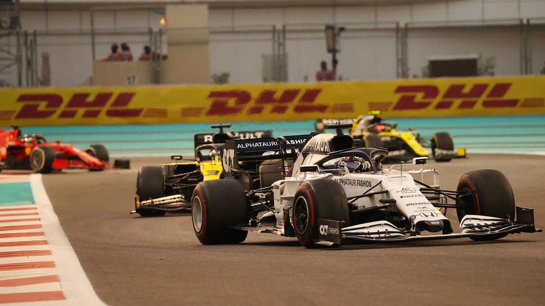 Daniil Kvyat - Alpha Tauri - GP Abu Dhabi 2020