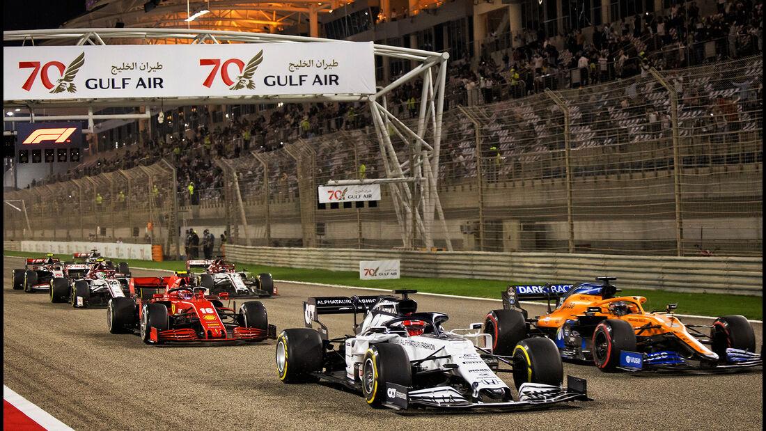 Daniil Kvyat - Alpha Tauri - GP Bahrain 2020 - Sakhir