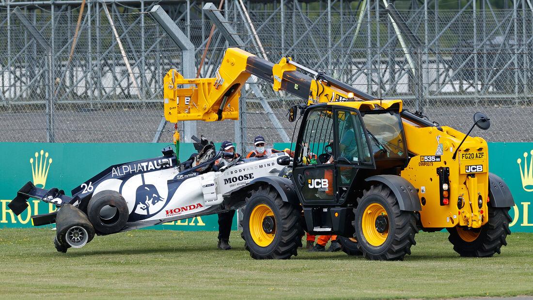 Daniil Kvyat - Alpha Tauri - GP England 2020 - Silverstone