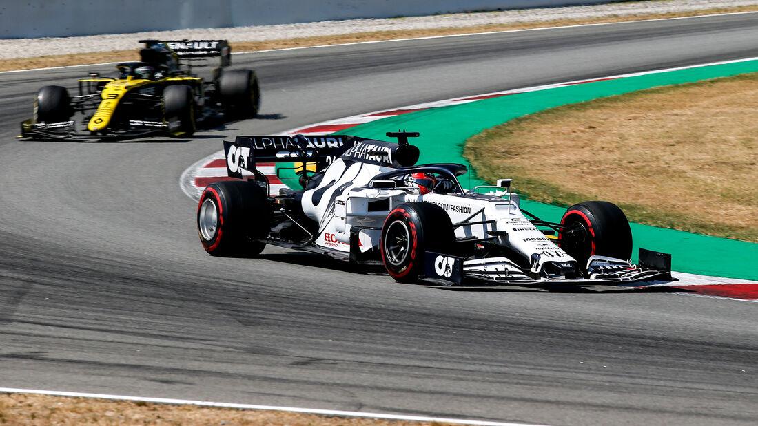 Daniil Kvyat - Alpha Tauri - GP Spanien 2020 - Barcelona