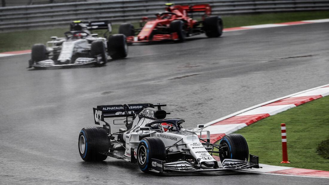 Daniil Kvyat - Alpha Tauri - GP Türkei 2020 - Istanbul - Rennen