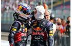 Daniil Kvyat - Daniel Ricciardo - Red Bull - GP Ungarn - Budapest - Rennen - Sonntag - 26.7.2015