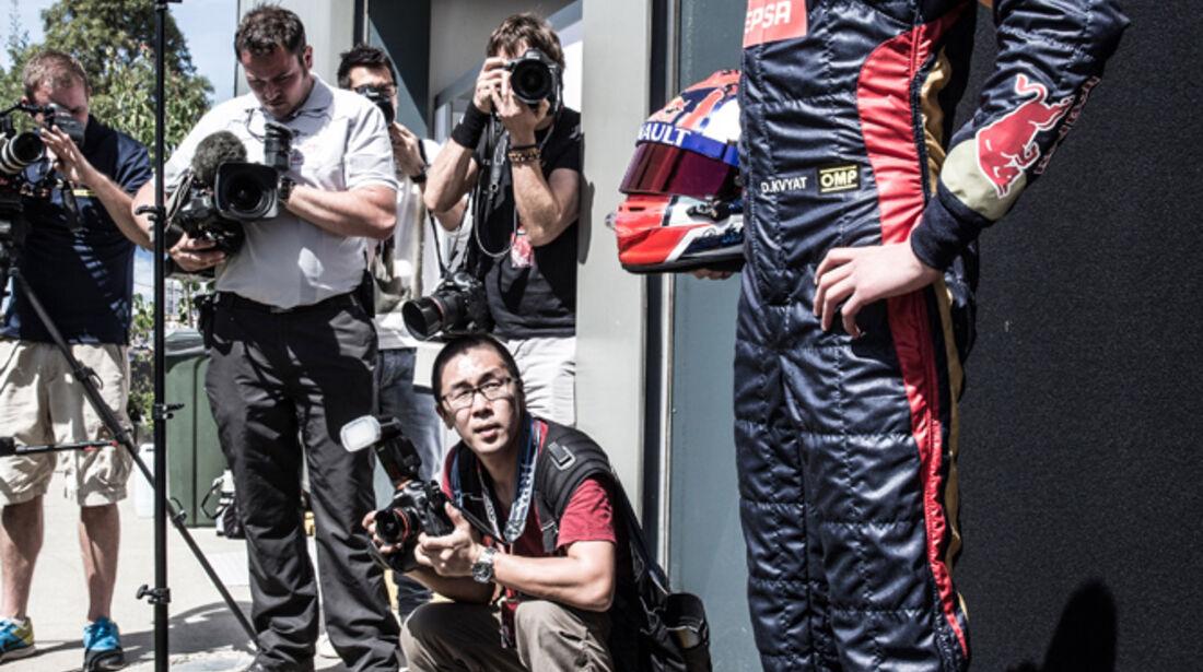 Daniil Kvyat - Formel 1 - GP Australien 2014 - Danis Bilderkiste