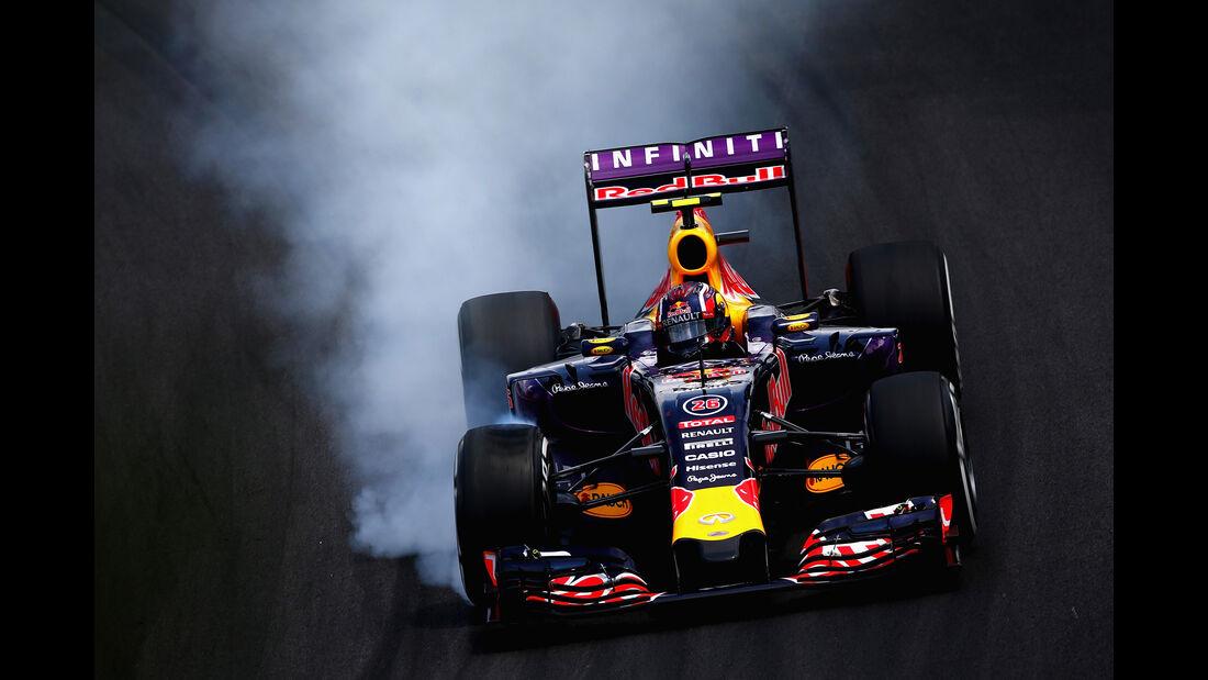 Daniil Kvyat - Formel 1 - GP Brasilien 2015