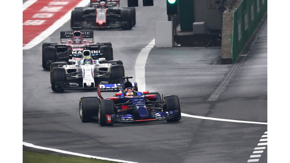 Daniil Kvyat - Formel 1 - GP China 2017