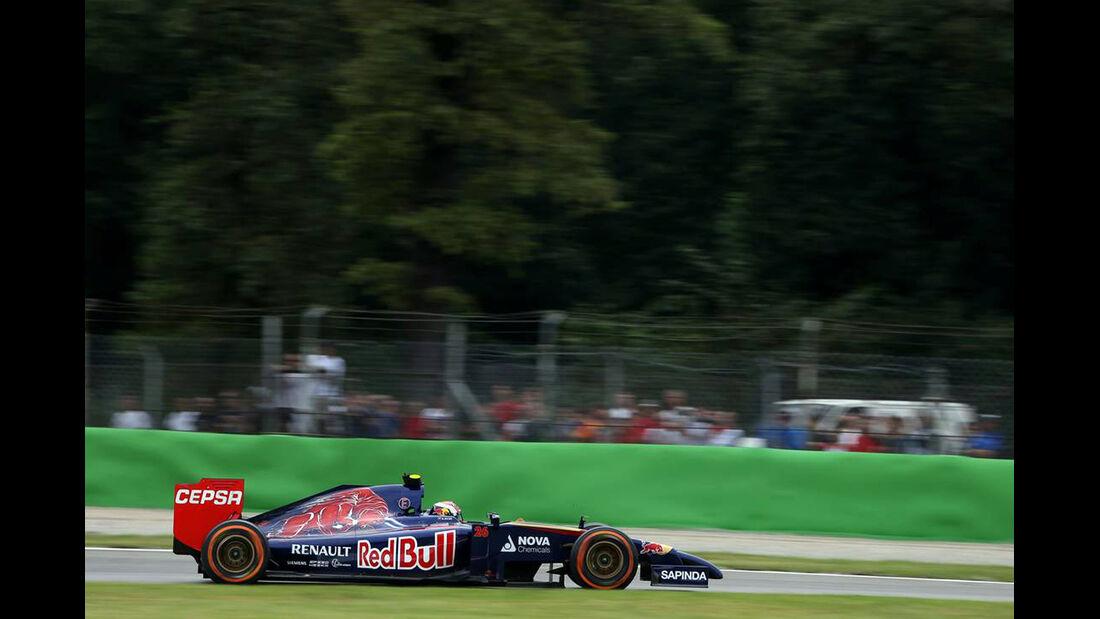 Daniil Kvyat   - Formel 1 - GP Italien - 5. September 2014