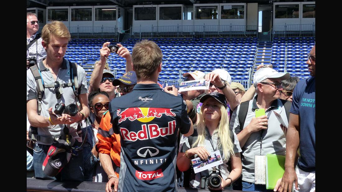 Daniil Kvyat - Formel 1 - GP Monaco - Freitag - 22. Mai 2015
