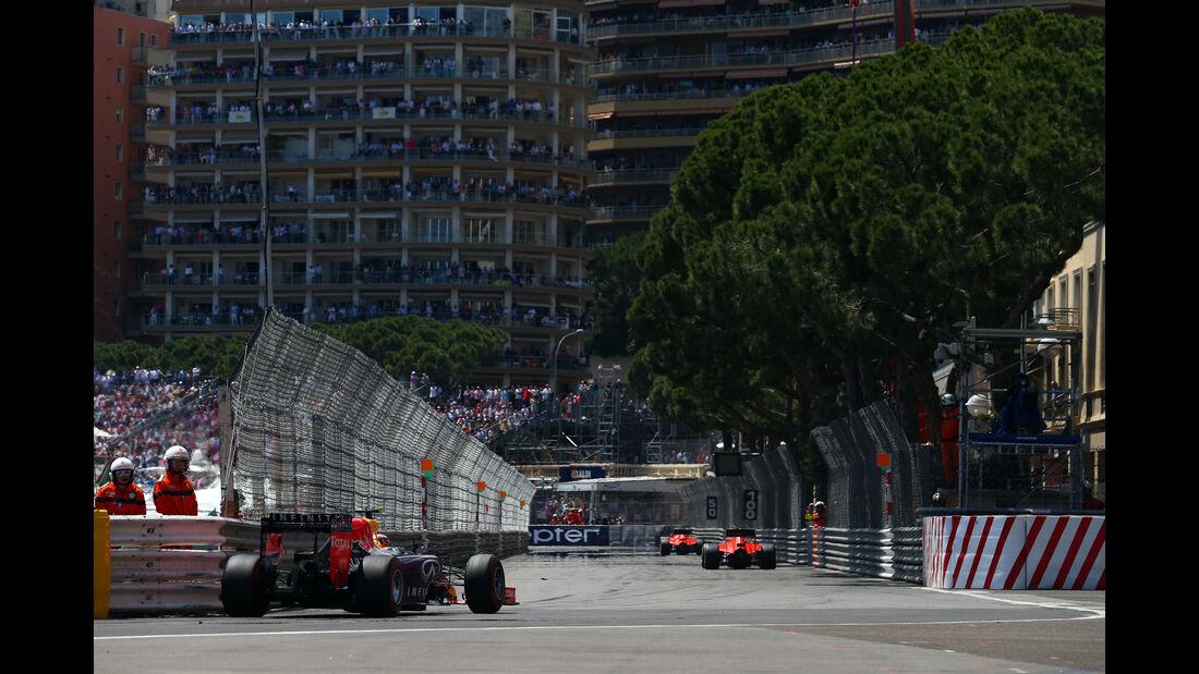 Daniil Kvyat  - Formel 1 - GP Monaco - Sonntag - 24. Mai 2015