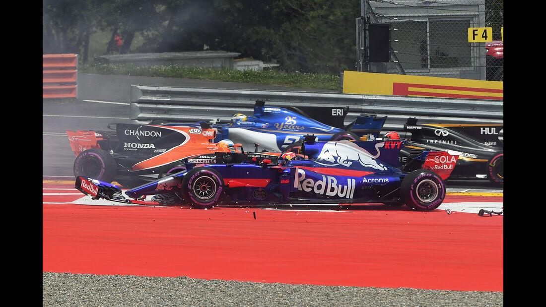 Daniil Kvyat - Formel 1 - GP Österreich 2017