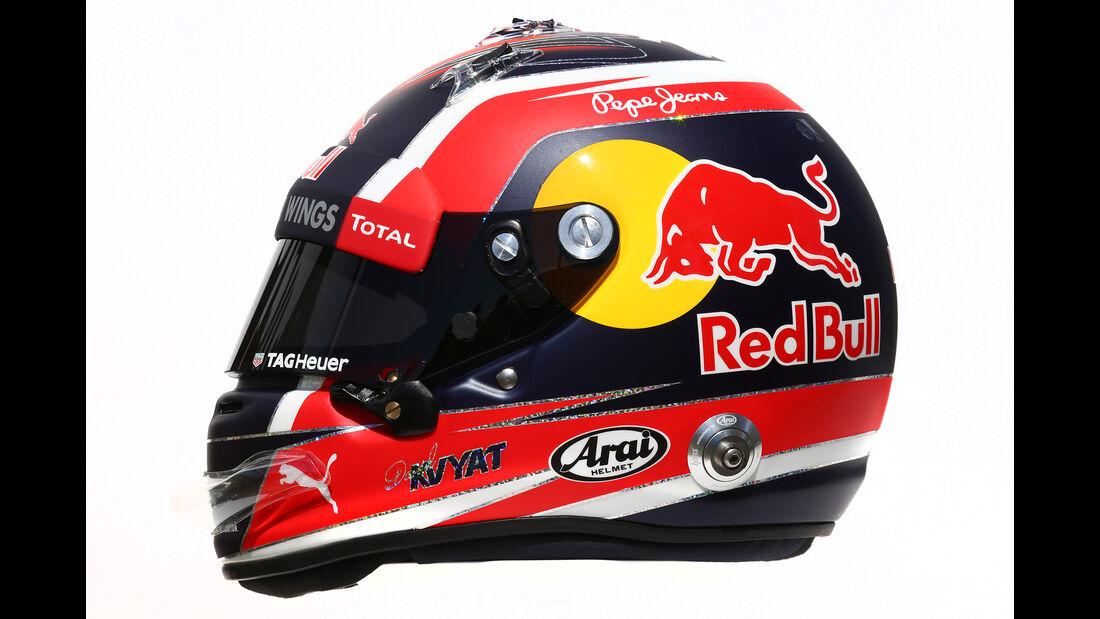 Daniil Kvyat - Formel 1 - Helm - 2016